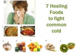 Healing food to fight common cold